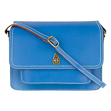 Buy Tula Saddle Medium Leather Flapover Across Body Bag Online at johnlewis.com