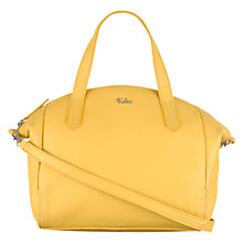 Buy Tula Nappa Originals Medium Leather Multiway Grab Bag, Yellow Online at johnlewis.com