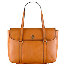 Buy Tula Nappa Originals Large Leather Tote Bag, Tan Online at johnlewis.com