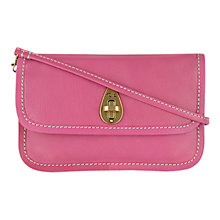 Buy Tula Leather Medium Alpine Original Clutch Bag Online at johnlewis.com