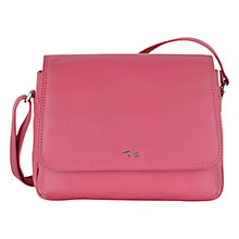 Buy Tula Nappa Medium Flapover Leather Across Body Bag Online at johnlewis.com