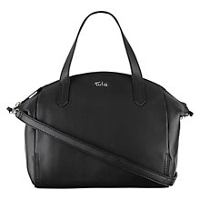 Buy Tula Nappa Originals Medium Leather Multiway Grab Bag, Black Online at johnlewis.com
