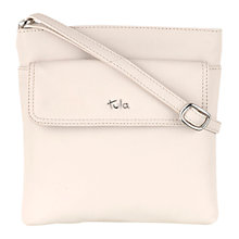 Buy Tula Nappa Originals Medium Top Zip Leather Across Body Bag Online at johnlewis.com