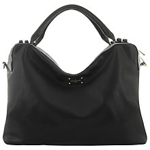 Buy Paul's Boutique Lauren Slouchy Weekender Grab Bag, Black/Metallic Online at johnlewis.com
