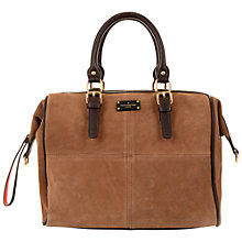 Buy Paul's Boutique Porter Slouchy Suede Bowling Bag Online at johnlewis.com