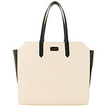 Buy Paul's Boutique Ally Oversized Tote Bag, Black/Cream Online at johnlewis.com