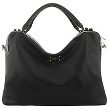 Buy Paul's Boutique Edie Oversized Slouchy Tote Bag, Black/Metallic Online at johnlewis.com