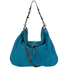 Buy Paul's Boutique Alexa Slouchy Suede Shoulder Bag Online at johnlewis.com