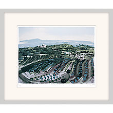 Buy Andy Lovell - Olive Grove Provence Framed Print, 67 x 78cm Online at johnlewis.com