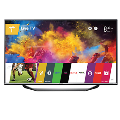 John Lewis 55JL9100 LED 4K Ultra-HD Smart TV, 55