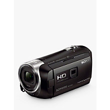 Buy Sony PJ410 Handycam with Built-in Projector, HD 1080p, 2.29MP, 30x Optical Zoom, Wi-Fi, NFC Online at johnlewis.com