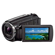 "Buy Sony PJ620 Handycam with Built-in Projector, HD 1080p, 2.29MP, 30x Optical Zoom, NFC, Wi-Fi, 3.0"" LCD Screen Online at johnlewis.com"