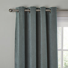 Buy John Lewis Erba Single Thermal Lined Eyelet Door / Window Curtain Online at johnlewis.com