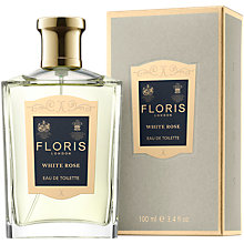 Buy Floris White Rose Eau de Toilette, 100ml Online at johnlewis.com