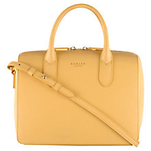 Buy Radley Bloomsbury Small Multiway Bag, Yellow Online at johnlewis.com