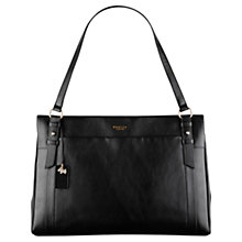 Buy Radley Chelsea Large Leather Work Bag, Black Online at johnlewis.com