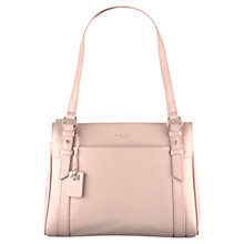 Buy Radley Chelsea Medium Leather Shoulder Bag, Pale Pink Online at johnlewis.com