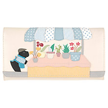 Buy Radley Market Day Large Leather Flapover Matinee Purse, Multi Online at johnlewis.com