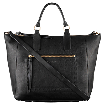 Radley Berkeley Large Leather Multiway Bag, Black