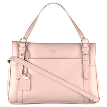 Buy Radley Chelsea Leather Small Zip Top Grab Bag Online at johnlewis.com