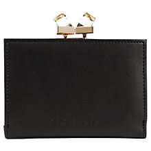 Buy Ted Baker Elly Small Square Leather Crystal Purse Online at johnlewis.com