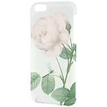 Buy Ted Baker Loouise Distinguishing Rose iPhone 6 Case, Mint Online at johnlewis.com
