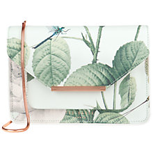 Buy Ted Baker Deena Crosshatch Clutch Bag, Mint Online at johnlewis.com