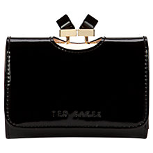 Buy Ted Baker Kryssi Small Patent Leather Purse Online at johnlewis.com