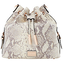Buy Dune Dolice Leather Duffle Shoulder Bag Online at johnlewis.com