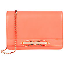 Buy Ted Baker Phoebee Across Body Bag, Orange Online at johnlewis.com