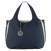 Buy Radley Claremont Hill Large Zip Top Grab Bag, Navy Online at johnlewis.com