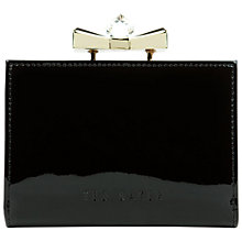 Buy Ted Baker Helan Small Patent Crystal Purse Online at johnlewis.com