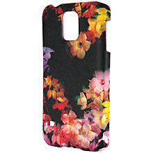 Buy Ted Baker Alli Cascading Floral Samsung Galaxy S5 Case, Black Online at johnlewis.com