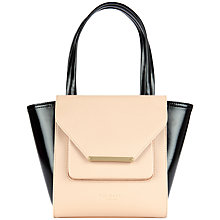 Buy Ted Baker Allira Shopper Bag, Taupe Online at johnlewis.com