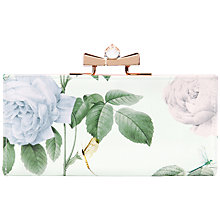 Buy Ted Baker Maryah Matine Leather Purse, Mint Online at johnlewis.com