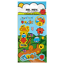 Buy Paper Projects Mr Men Part Pack Stickers Online at johnlewis.com
