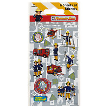 Buy Paper Projects Fireman Sam Stickers Online at johnlewis.com