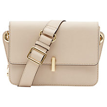 Buy Reiss Kobana Mini Belt Bag, Nude Online at johnlewis.com