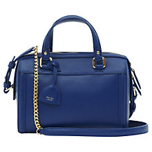 Buy Reiss Lido Structured Mini Handbag, Serpentine Online at johnlewis.com