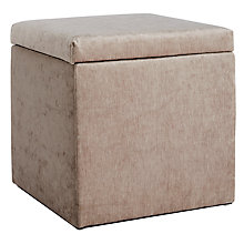 Buy John Lewis Emily Storage Stool Online at johnlewis.com