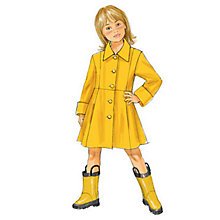 Buy Butterick Children's Coat Sewing Pattern, 5946 Online at johnlewis.com