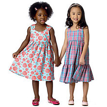 Buy Butterick Children's Dress Sewing Pattern, 6004, A Online at johnlewis.com
