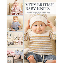 Buy Very British Baby Knits by Susan Campbell Book Online at johnlewis.com