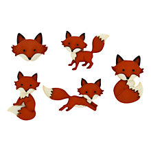 Buy Jesse James Out Foxed Paper Toppers Online at johnlewis.com