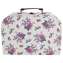 Buy RJB Stone New Vintage Floral Suitcase Online at johnlewis.com