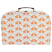 Buy RJB Stone Foxes Suitcase, Large Online at johnlewis.com