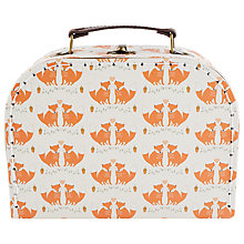 Buy Sass and Belle Foxes Suitcase, Small Online at johnlewis.com