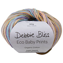 Buy Debbie Bliss Eco Baby Cotton Yarn, 50g Online at johnlewis.com