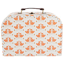 Buy RJB Stone Foxes Suitcase, Medium Online at johnlewis.com