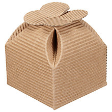 Buy John Lewis DIY Square Favour Box, Pack of 10 Online at johnlewis.com